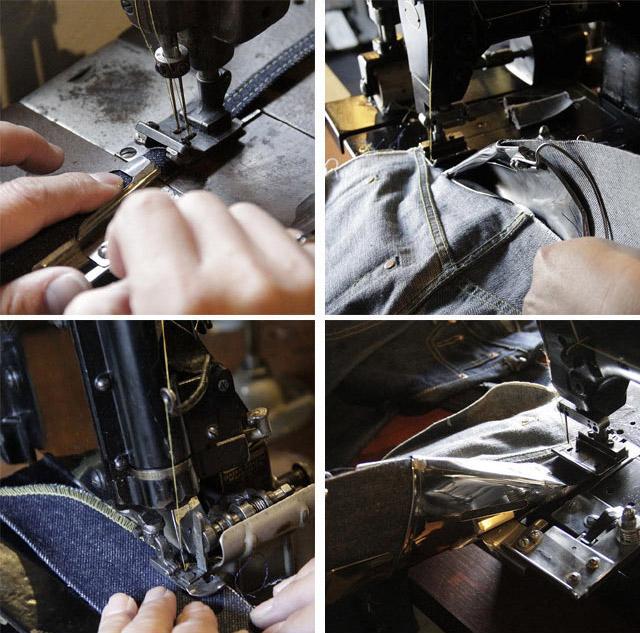 パーツや部位によって使いミシンが変わってきます